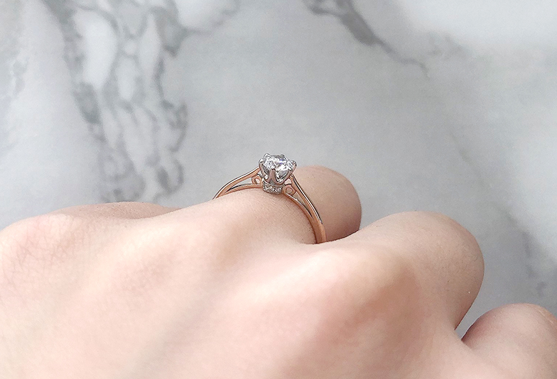 LAPAGE ポンマリー婚約指輪