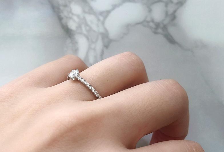 LOVEBOND ローザ婚約指輪