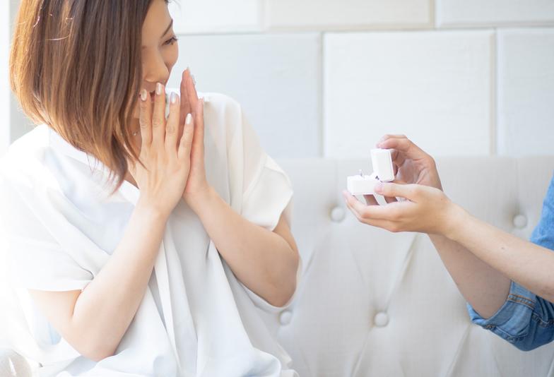 【静岡市】必見!彼女の指のサイズが分からなくても婚約指輪でプロポーズする方法
