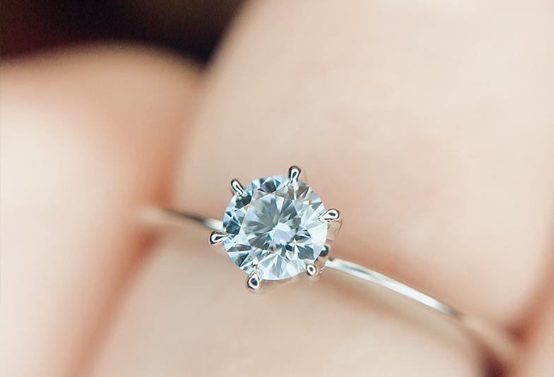 【福井市】男性必見!女性が喜ぶのは「シンプル」な婚約指輪でした!