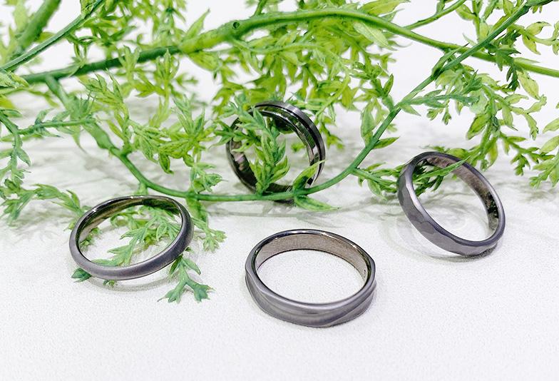【浜松市】黒い結婚指輪って知ってる?人と差がつくかっこいい結婚指輪はタンタルで決まり!