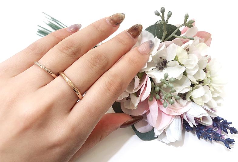 【静岡市】ピンクゴールドの結婚指輪は少なくて選べない?その理由と解決策