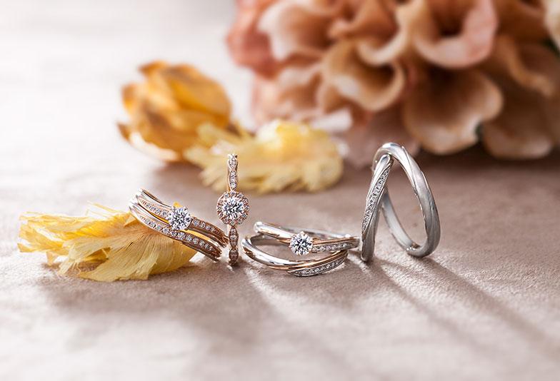 【那覇市】コンビネーションが素敵!ステルジュラーレの結婚指輪をご紹介