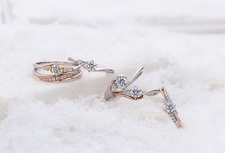 【京都市】他にはない!コンビでお洒落なセットリング『婚約指輪・結婚指輪』の人気ブランド3選