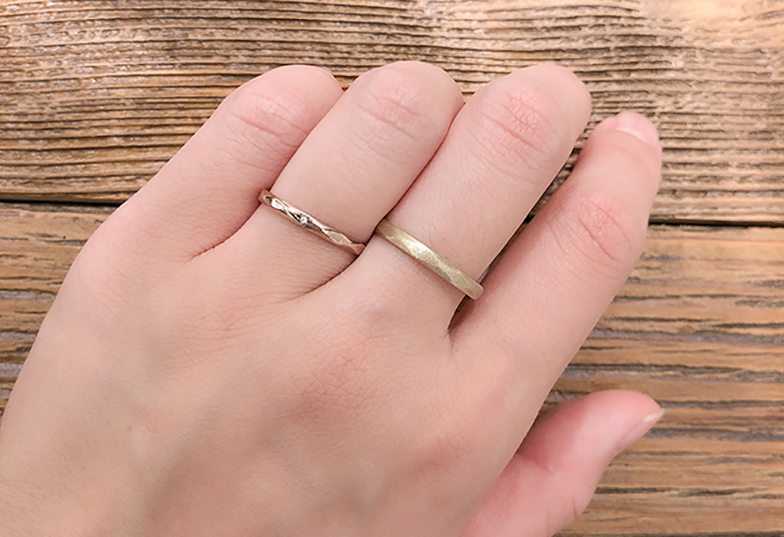 浜松市結婚指輪手作り