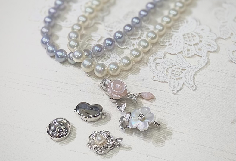 浜松市真珠のネックレス