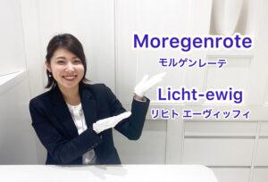 【動画】浜松市 Moregenrote(モルゲンレーテ)【Licht-ewig】 リヒトエーヴィッヒプリンセスカットのダイヤモンドが特徴の結婚指輪