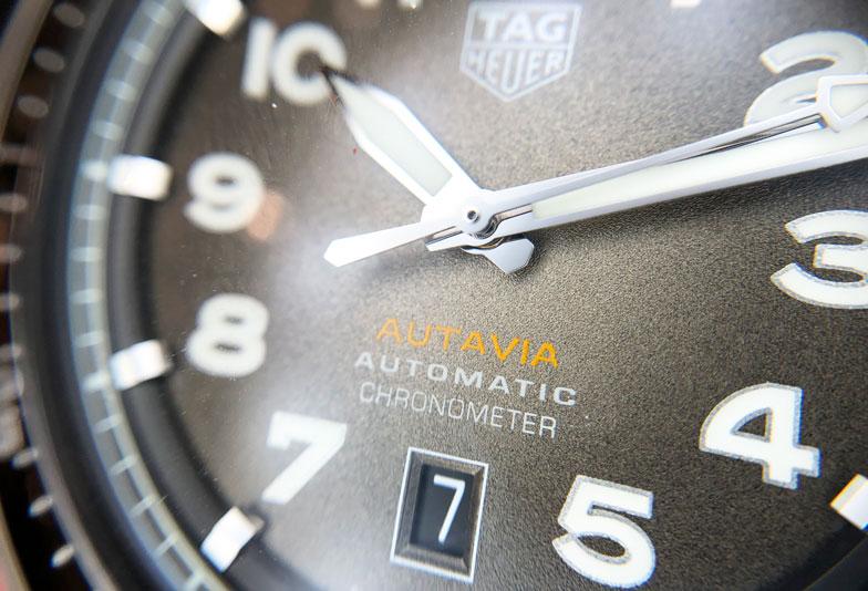 【静岡時計】TAGHeuerタグホイヤー ヴィンテージ風デザイン「オータヴィア」