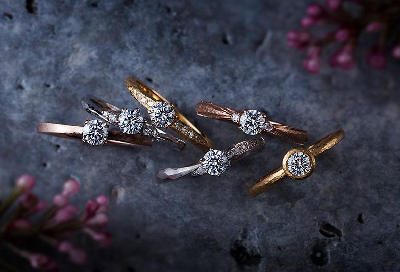 【京都市】婚約指輪『エンゲージリング』ゴールド素材でオシャレに普段使いしたい!そんな女性にオススメなブランドは?