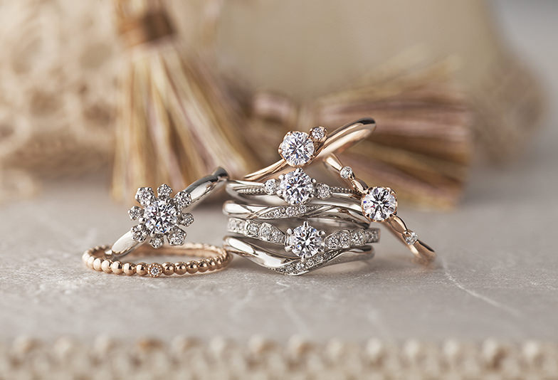 【姫路市】お洒落さんに人気!アンティーク調の結婚指輪
