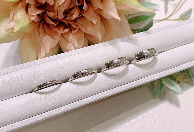【浜松市】結婚指輪は太さで印象が変わる?着け比べて徹底検証してみました!