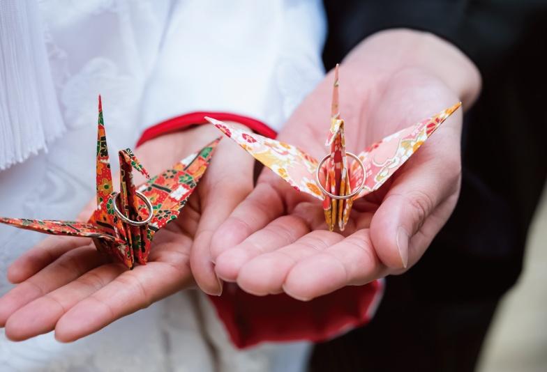 【いわき市】ふたりの縁を結ぶ結婚指輪!和テイストがオシャレな「katamu」