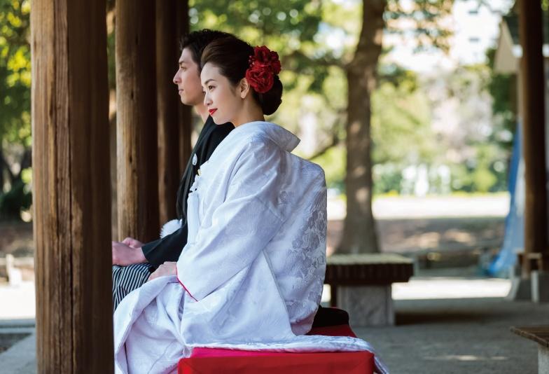 【福島市】和テイストの結婚指輪 ふたりのかたい結びつきを表現した「katamu」