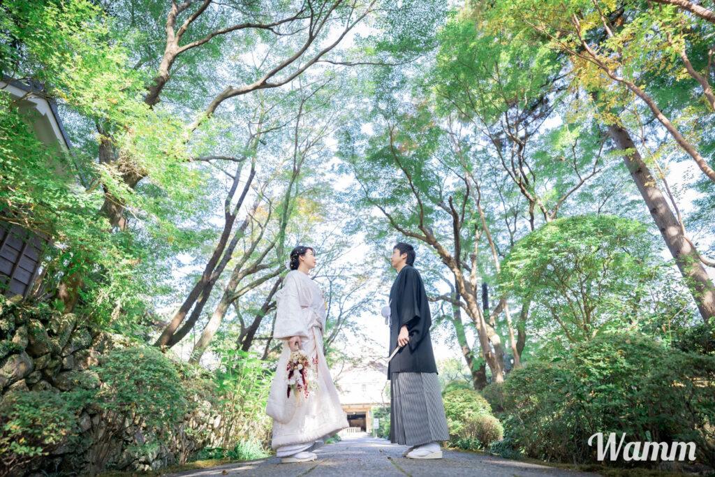 【浜松前撮り】和装が似合う 人気ロケーション 車で9分の龍潭寺