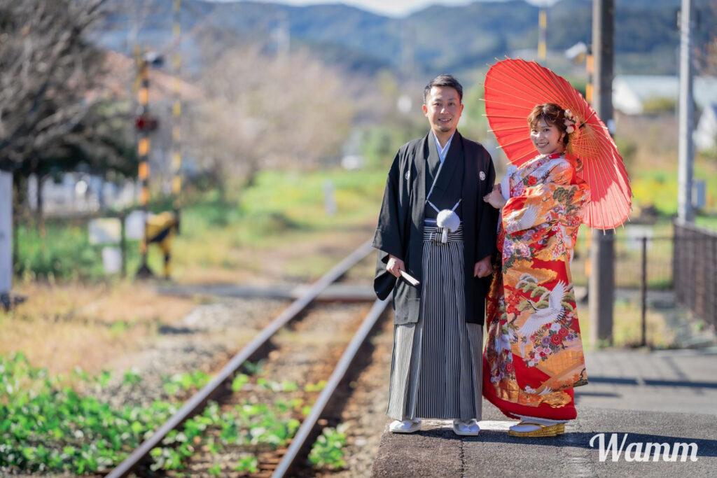 【浜松前撮り】天竜浜名湖鉄道で前撮りしませんか?