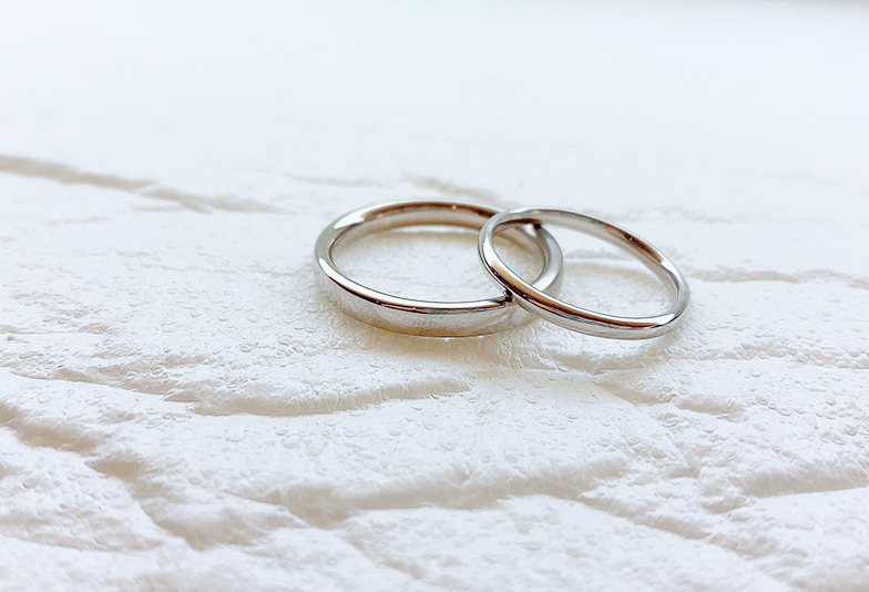 【静岡市】結婚指輪はシンプルなダイヤなしがいい!そんな私が選んだもの