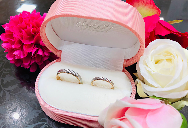 【福井エルパ】結婚指輪!素材選びに迷ったらコンビネーションリング「オフェルタ」!