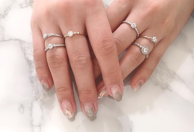 【静岡市】太い指に婚約指輪は似合わない…は間違い?個性を引き出せる方法とは
