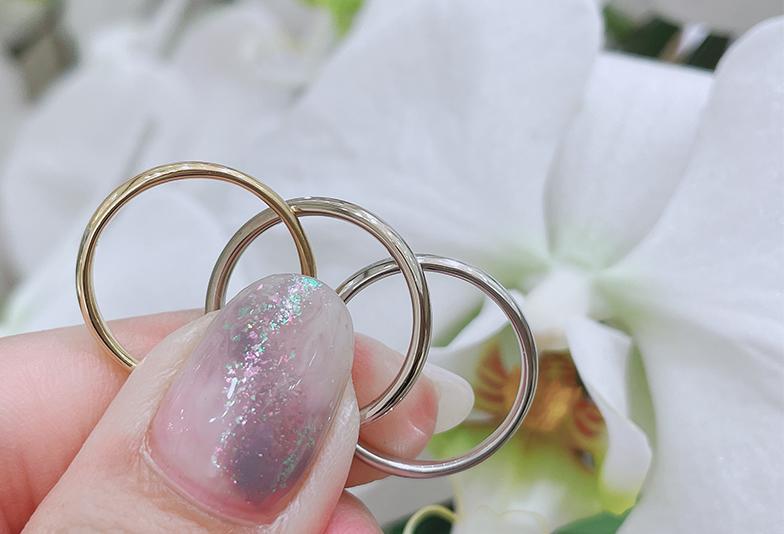 【静岡市】シンプルな結婚指輪を求めて。私たちはオーダーメイドにしました!