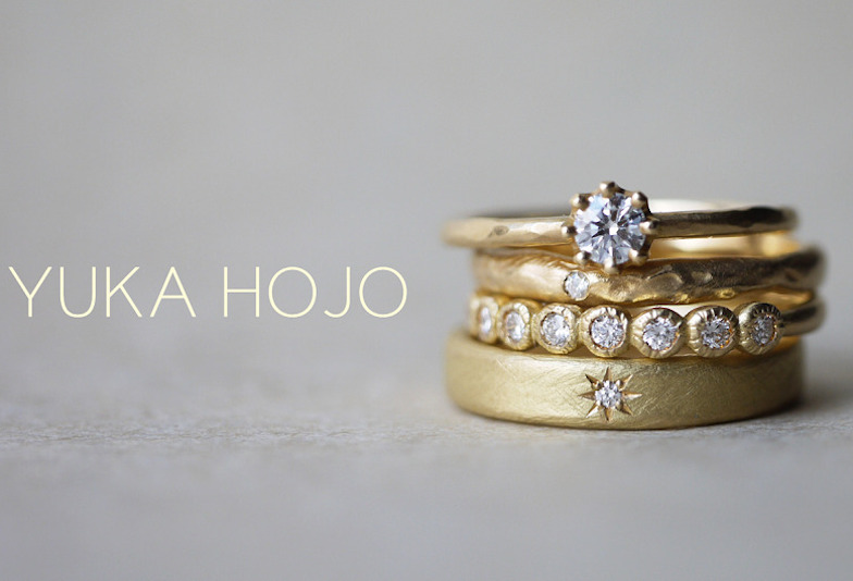 【大阪・梅田】SNSで人気!YUKAHOJOの結婚指輪、婚約指輪をご紹介!