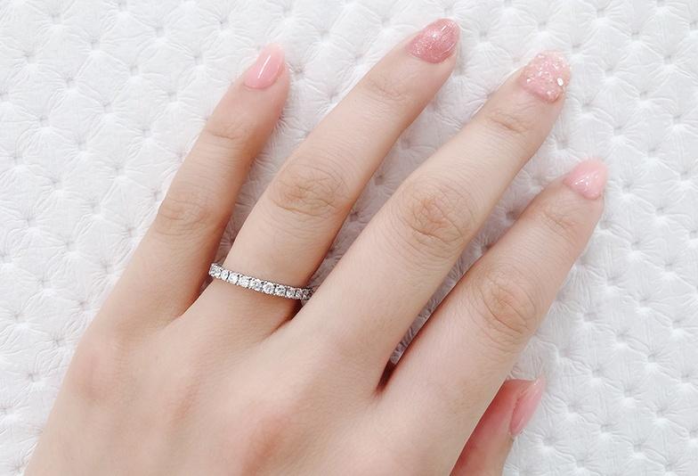 【静岡市】普段使い出来る婚約指輪!わたしが選んだフルエタニティリング