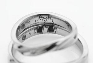 【静岡市】今人気の結婚指輪の刻印!ポイントはふたりだけのオリジナル