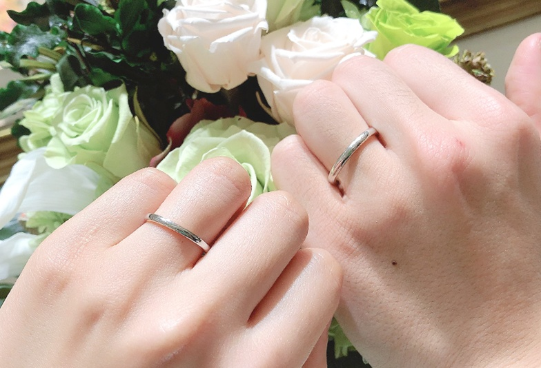 【静岡市】結婚指輪の決め手がなくて悩んでいませんか?おすすめは鍛造製法のシンプルなデザイン