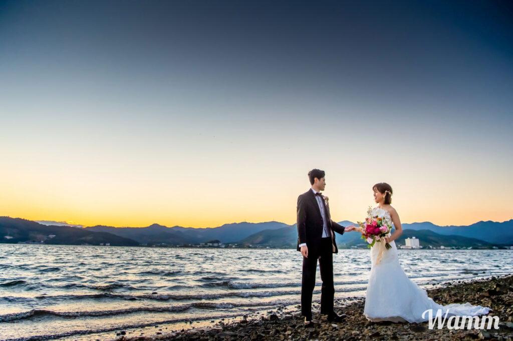 【浜松前撮り】浜名湖に宿泊して前撮りを楽しむモニターモデルプラン