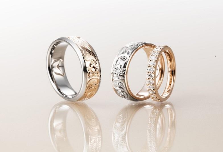 神戸・三ノ宮 ふたりの特別な結婚指輪はセミオーダーのハワイアンジュエリーを