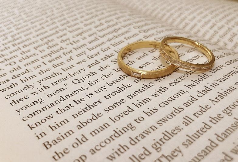 【静岡市】ゴールドの結婚指輪を取り扱っているお店が少ない!私が選んだブライダルリング店