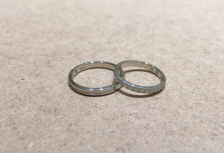 トワイユ 結婚指輪