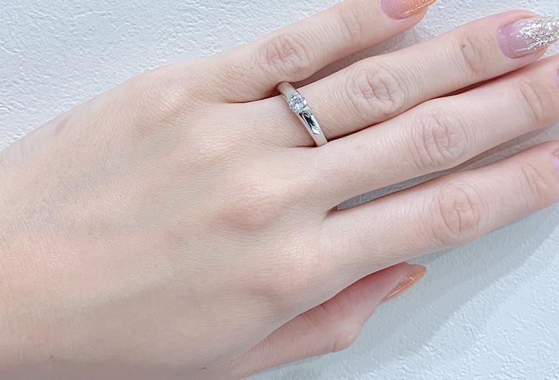 静岡婚約指輪 普段使い