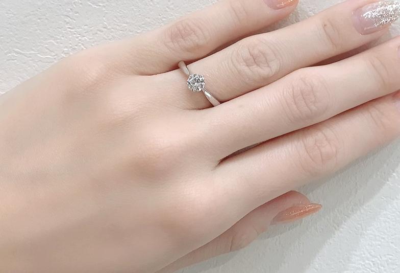 静岡婚約指輪シンプル