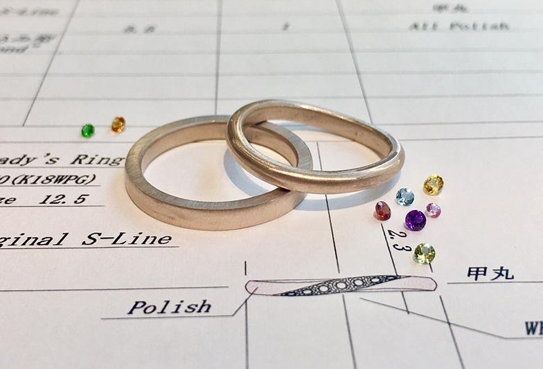 【静岡市】結婚指輪デザイン違いを合わせる3つのポイントとは?