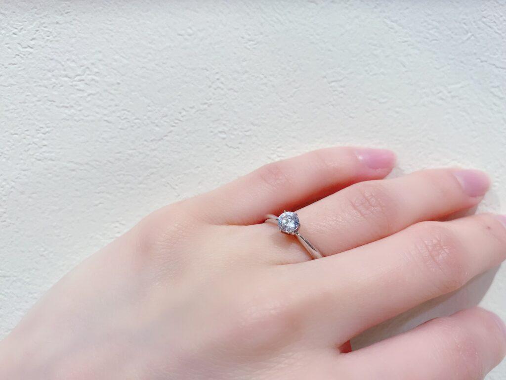 【静岡市】私がシンプルな婚約指輪を選んだ理由!20代女子編