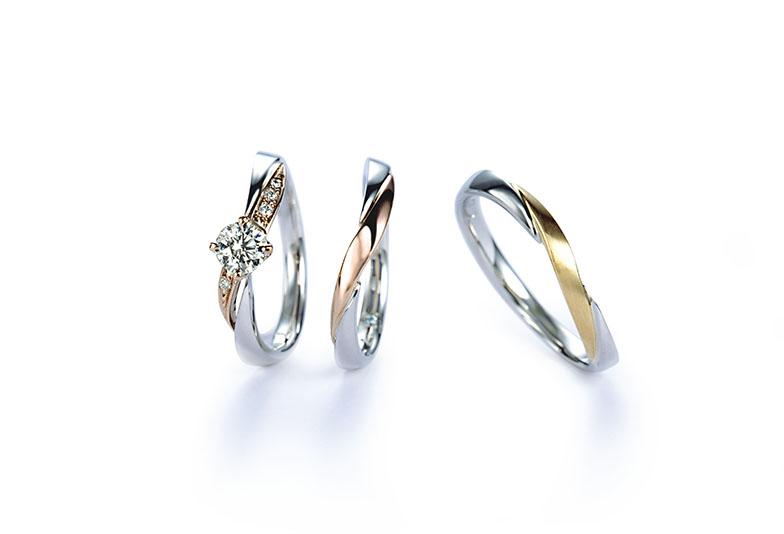 浜松市婚約指輪結婚指輪コンビ