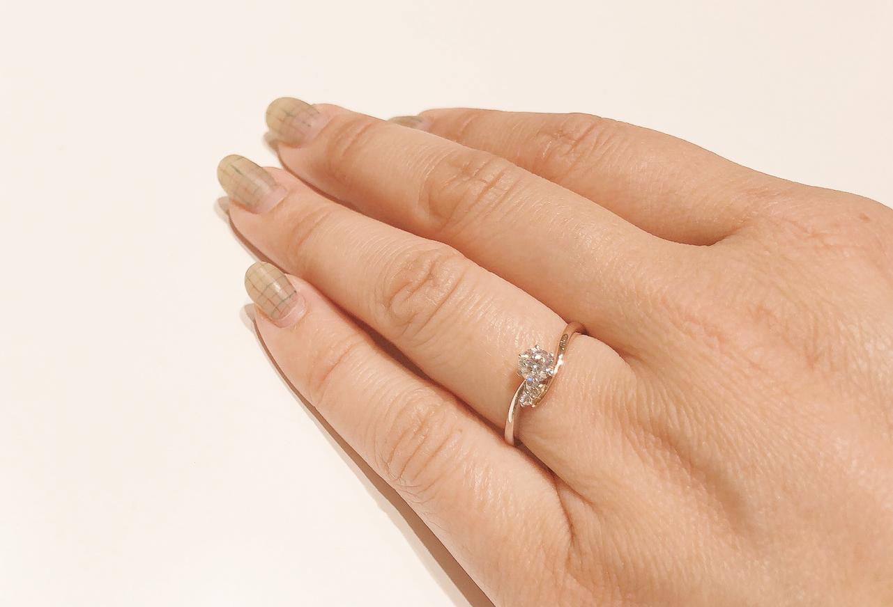 婚約指輪 コンビネーションリング