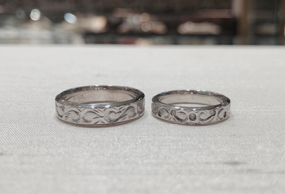 結婚指輪 ハワイアンジュリー
