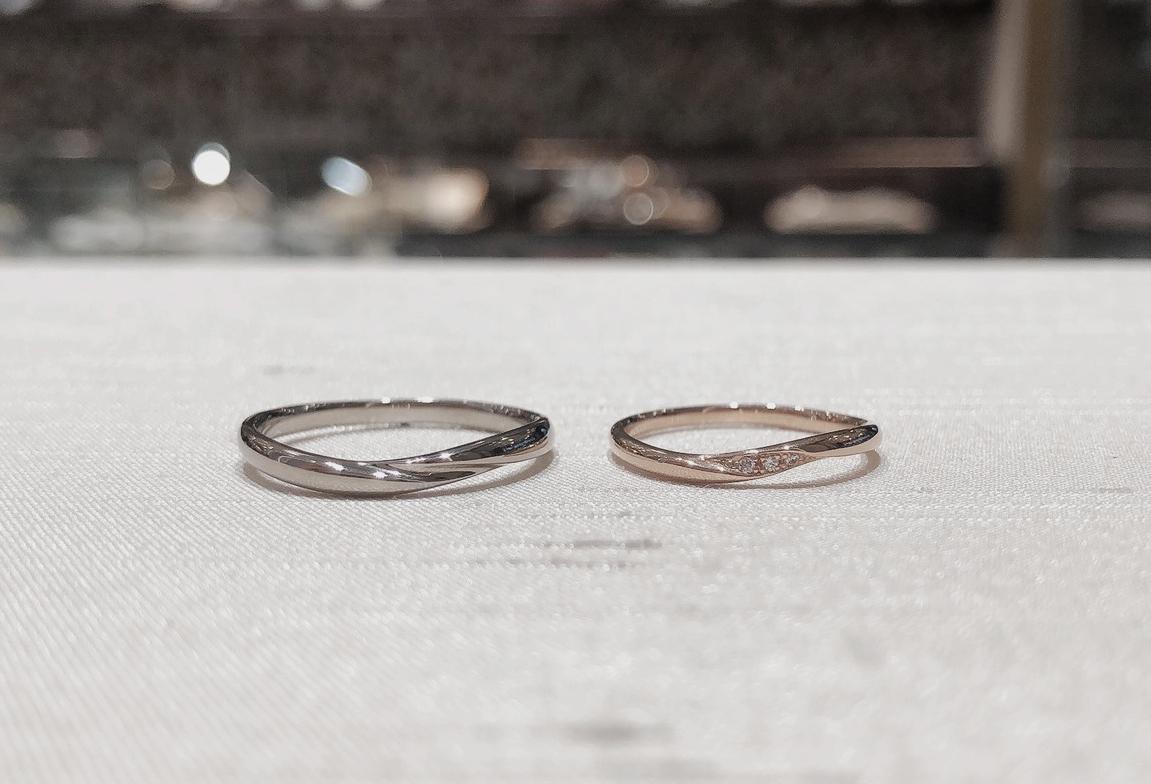 結婚指輪 シンプル ゴールド