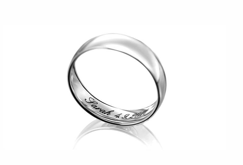 【静岡市】結婚指輪の刻印って何が入れられるの?金額はどのくらいかかる?