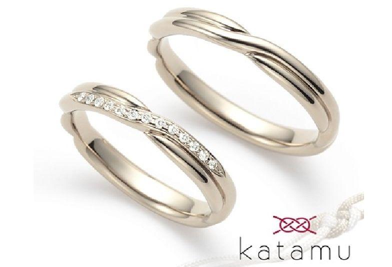 【大阪・梅田】鍛造製法とダイヤの品質にこだわっている「Katamu」をご紹介いたします