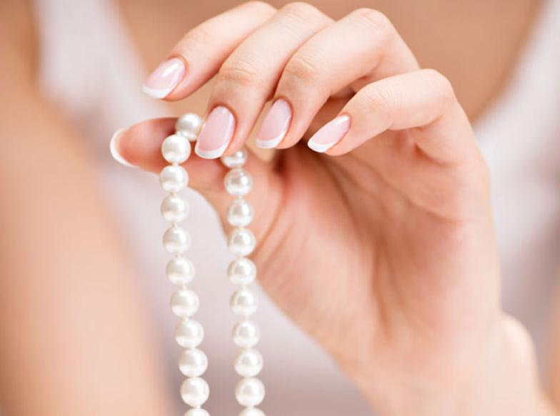 【静岡市】簡単!真珠の余り珠がジュエリーリフォームでオシャレなネックレスに大変身