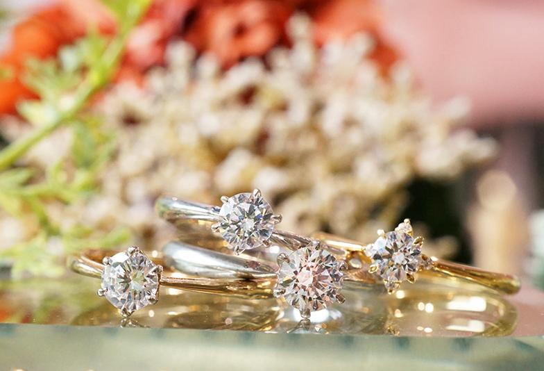 【浜松市】高品質なダイヤモンドを見抜く方法③『カラーの選び方』