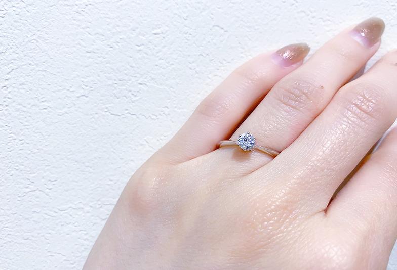 【静岡市】シンプルなのに個性的!?おすすめ婚約指輪デザイン3選