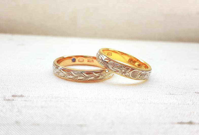 【静岡市】海好きの私たちが選んだハワイアンの結婚指輪!
