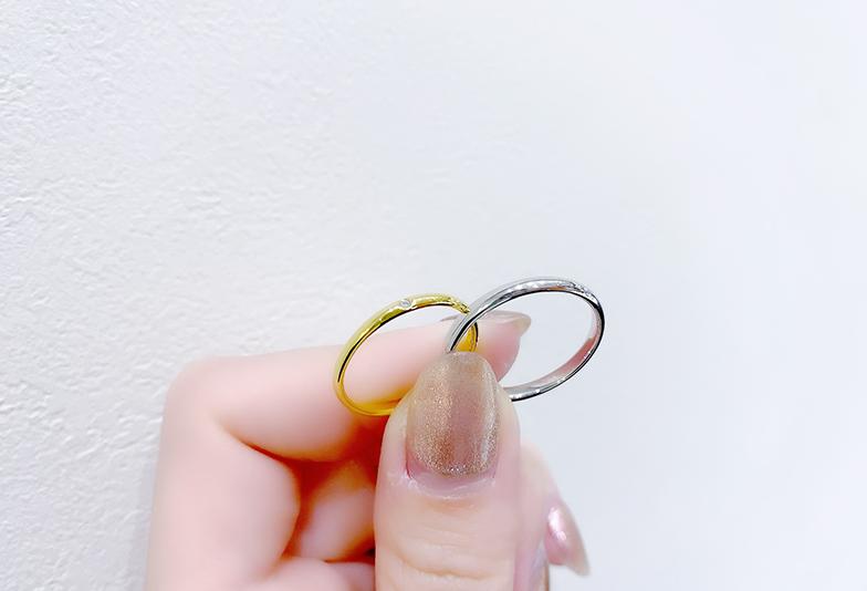 【静岡市】結婚指輪でゴールドは派手?プラチナと迷った時の選び方