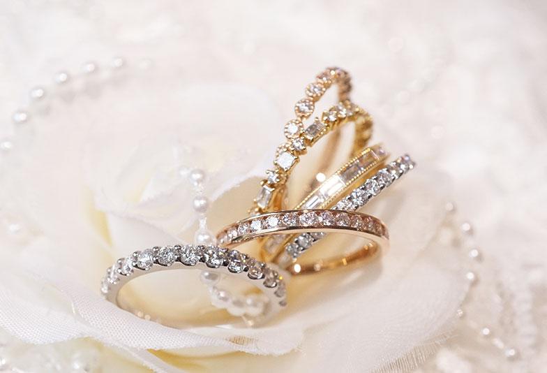 浜松 婚約指輪 エタニティリング
