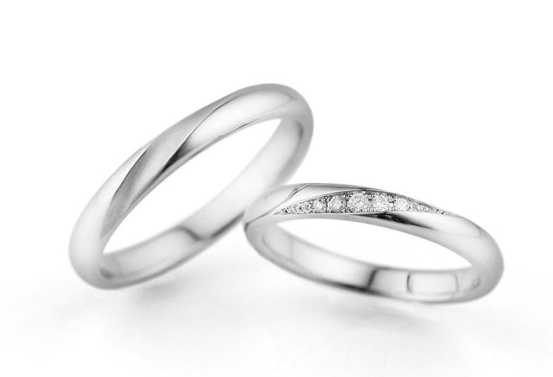 浜松市結婚指輪シンプル