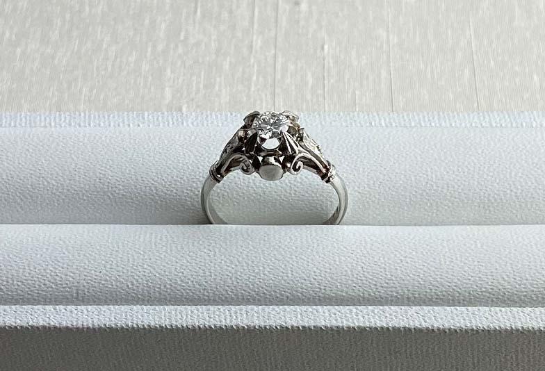 浜松市ジュエリーリフォーム婚約指輪