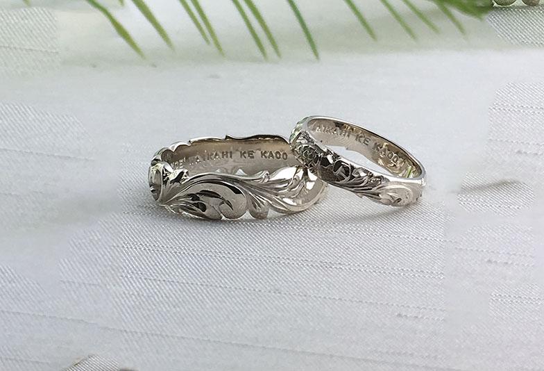 浜松市結婚指輪ハワイアンジュエリー